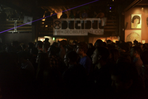 Timetable Records showcase audience at Decibel Festival 2013