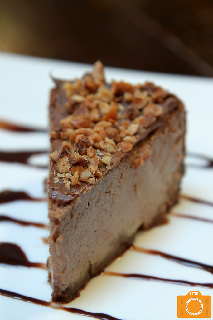 Urbn Bar Nutella and Candied Hazelnut Cheesecake