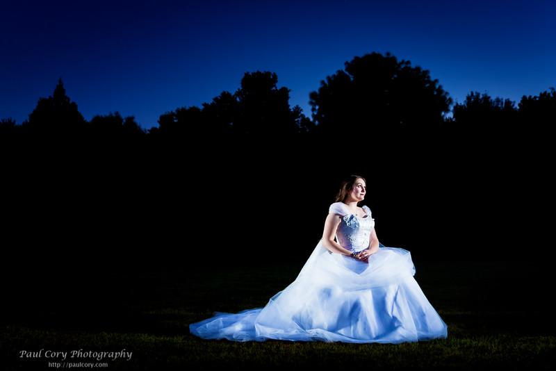 Bride at Dusk, Color