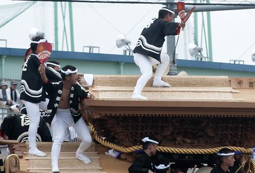 Kishiwada Danjiri Matsuri 岸和田だんじり祭 7