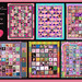 Breast Cancer Awareness Quilting 2008-2013 by martian cat