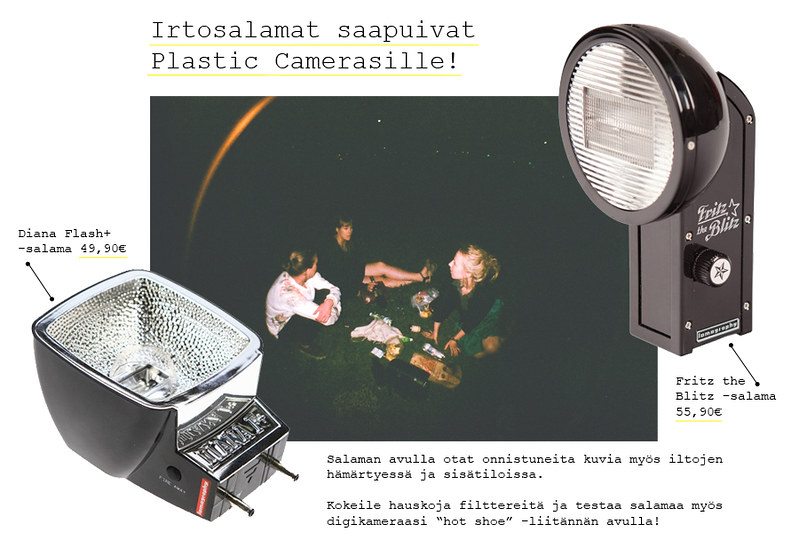 Irtosalama lomography diana la sardina hot shoe