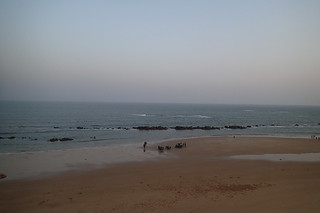 Image of  Beach with a length of  4602  meters. voyage china shandong rizhao