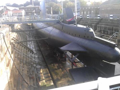 HM Submarine Ocelot at Chatham Historic Dockyard