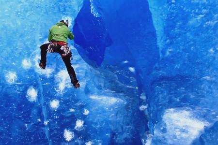 "Film Blue Obsession - ""hry"" na ledovci"