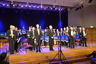 Brassbandfestivalen 2013 - Solna Brass, dirigent Emil Björklund (Foto: Olof Forsberg)