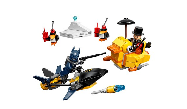 LEGO DC Comics Super Heroes 76010 - Batman: The Penguin Face off