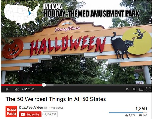 BuzzFeed's choice for Indiana's weirdest