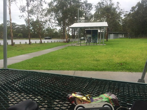 Rest Stop to avoid some rain !!