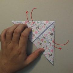 วิธีการพับกระดาษเป็นรูปหัวใจ 004