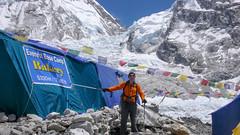 Piekarnia w obozie bazowym pod Everestem