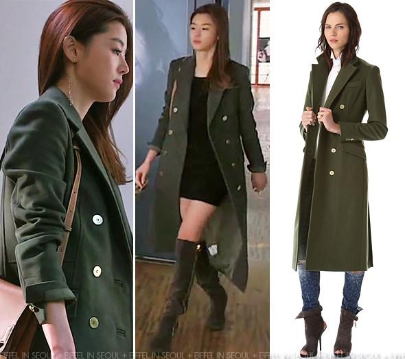 Eiffel In Seoul Gianna Jeon Ji Hyun Wears Balmain In Episode 5 Of 39 My Love From The Stars 39