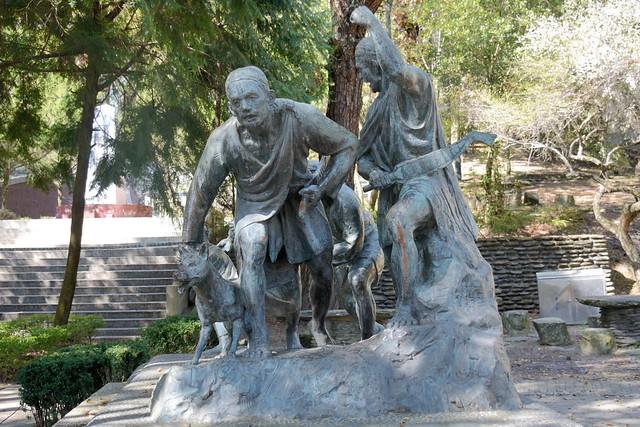 霧社事件紀念公園:雕像