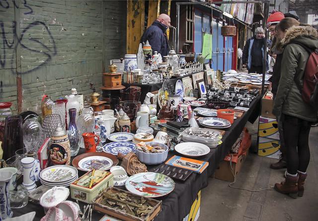 IJ-Hallen flea market - Amsterdam-Noord