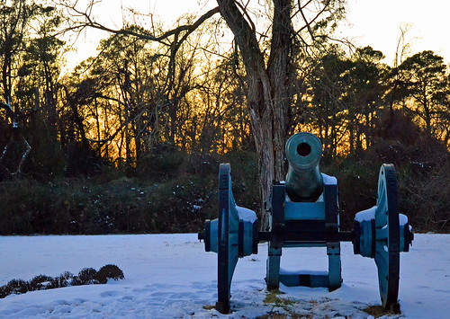 Revolutionary Canon in the Snow, Yorktown
