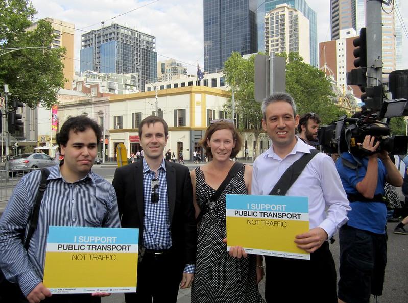 Terry K, Nick Staikos, Danita T, Daniel B at Parliament