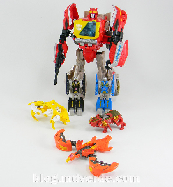 Transformers Blaster & Data Discs Fall of Cybertron - modo robot