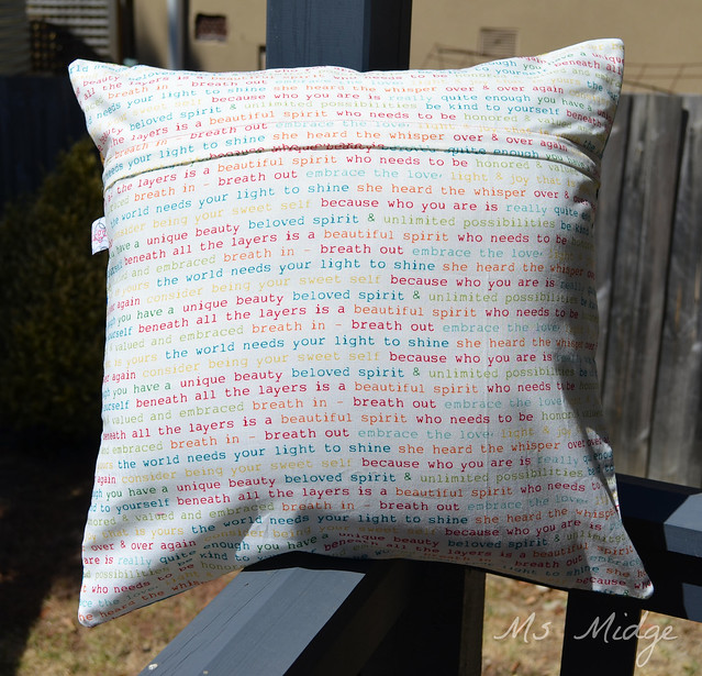 16 Patch Cushion