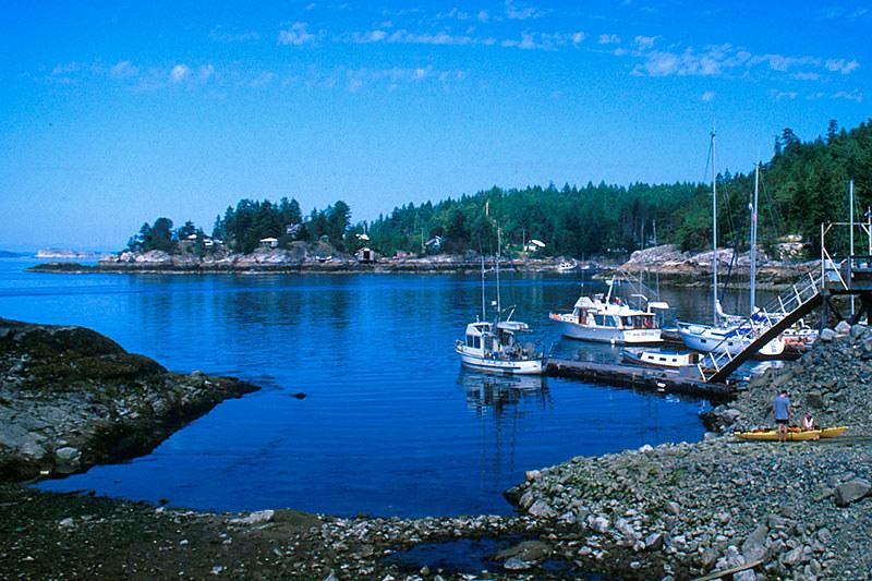 Lund, Malaspina Peninsula, Sunshine Coast, British Columbia, Canada