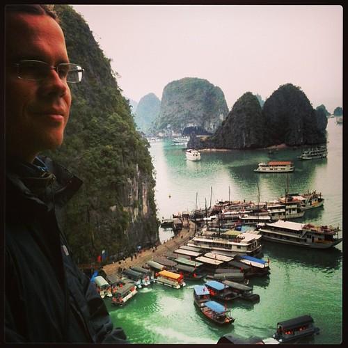 En la Bahía de Halong #Vietnam