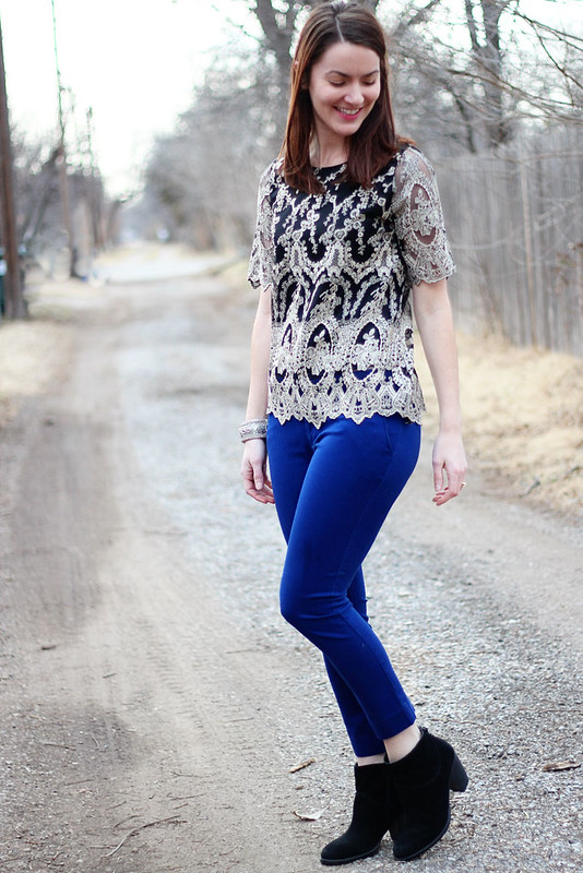blue-pants-black-booties-lace-shirt4