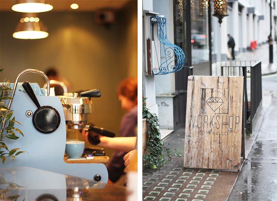 Worshop cafe London