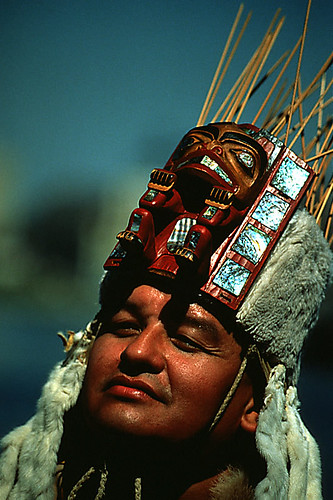 George Hunt Junior, Kwa-guilth First Nation Artist, Campbell River, Vancouver Island, British Columbia, Canada