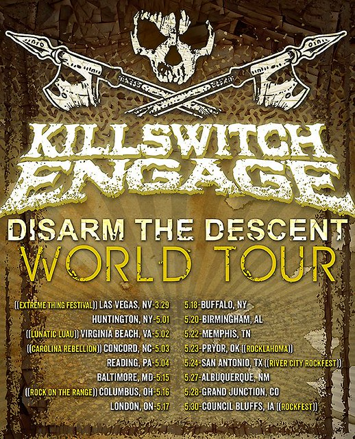 Killswitch Engage at Rams Head Live