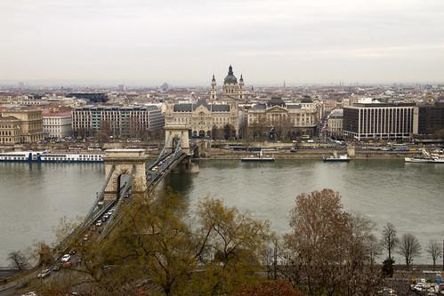 13.4498 - Budapest e il Danubio dal Castello di Buda