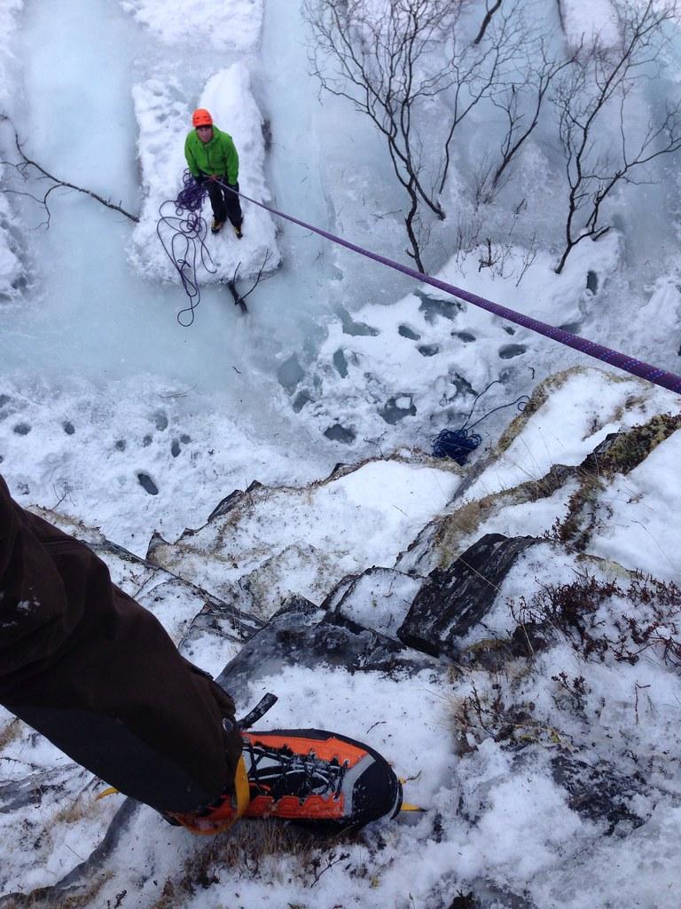 Swedish Version of Scottish Mixed Climbing