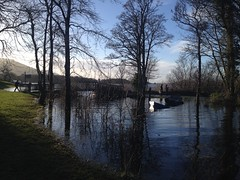 Flooding at Ross Castle