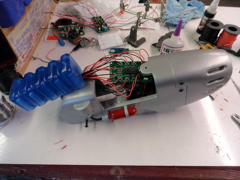 Plasma Pistol Wiring Complete
