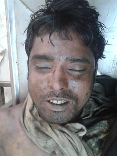 Faruk-deceased worker at Arafin yard