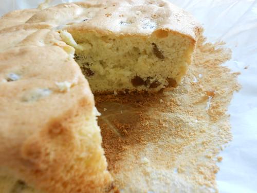 готовый бисквит разрез