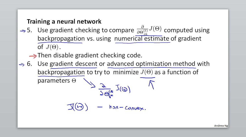 Training a neural network-2