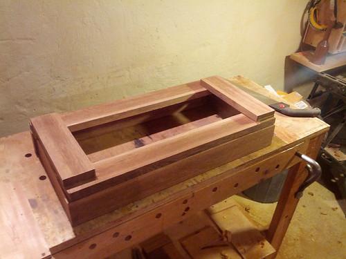 Nueva madera lista para dejar secando