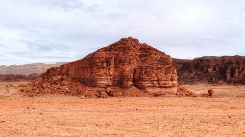 landscape israel desert timna