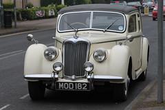 Old Riley car