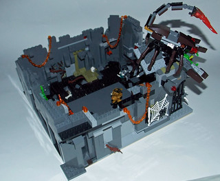 LEGO Chima MOC - Scorpion Palace Ruins 6