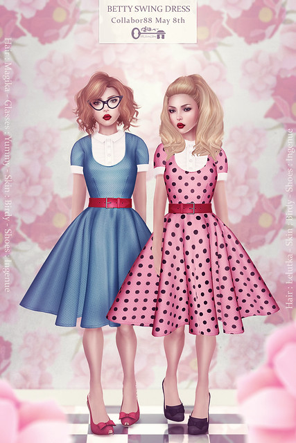 Betty Swing Dress - Poster