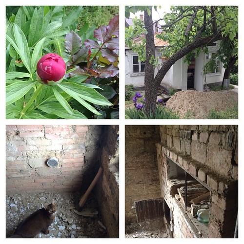 В летнем домике начался долгожданный ремонт. Все историческое буду сохранять по максимуму))) #старыйкрым