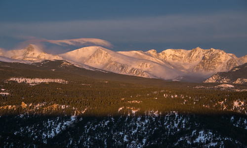 sunrise colorado indianpeaks iridescentcloud sawtoothmountain ogallapeak elkstooth