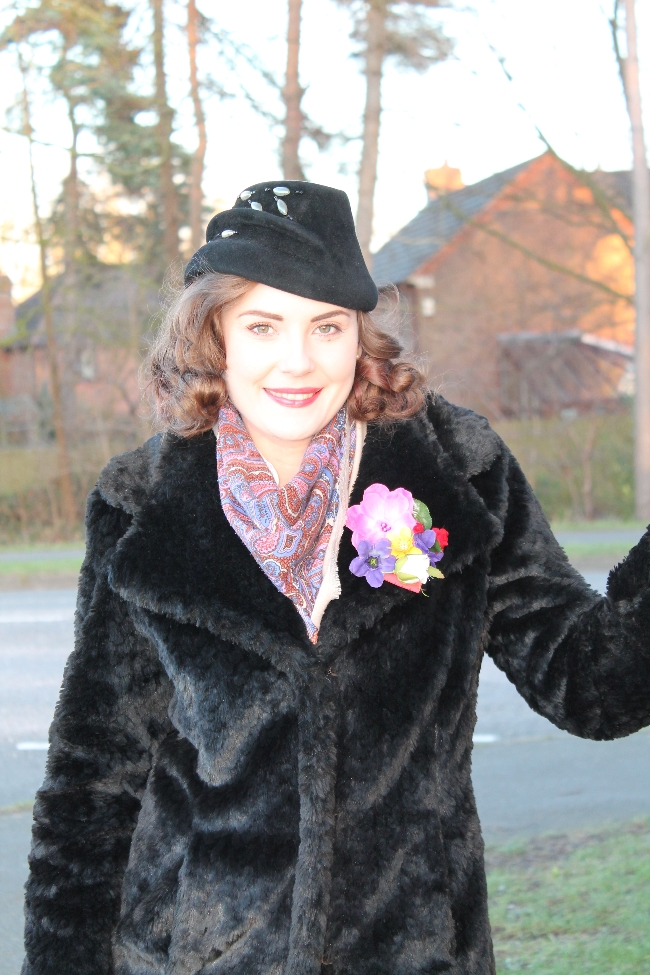40s Hat Outfit