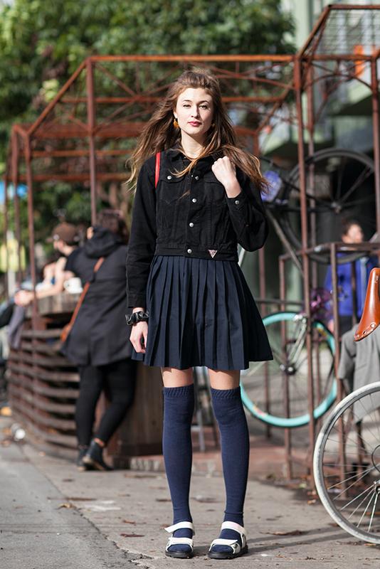 corina Quick Shots, San Francisco, street fashion, street style, Valencia Street, women
