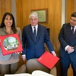 Visita a la Cámara de Comercio de Madrid