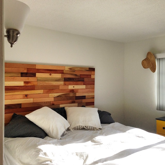 #headboard #mounted #reclaimedwood