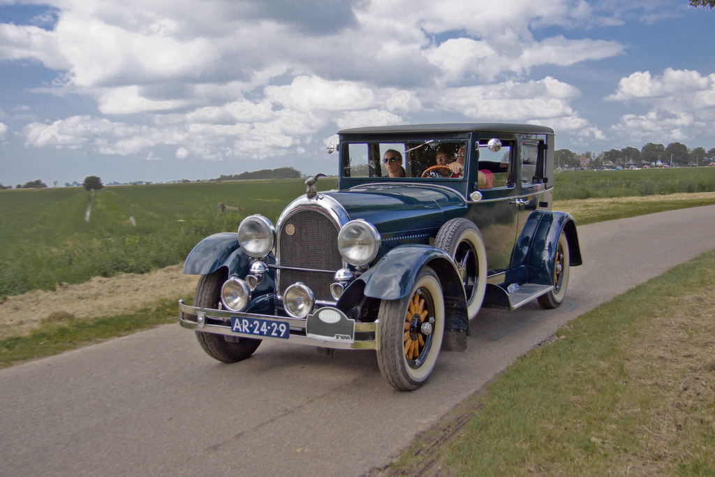 Kissel Four Door Brougham Special 1928 (8428)
