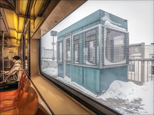 7 Train, Uptown (Flushing Bound), at 111 Street Station 2015.01.27