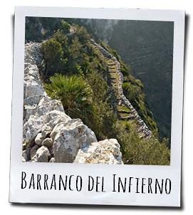 Een stevige wandeling door de Barranco del Infierno in de Vall d'Ebo