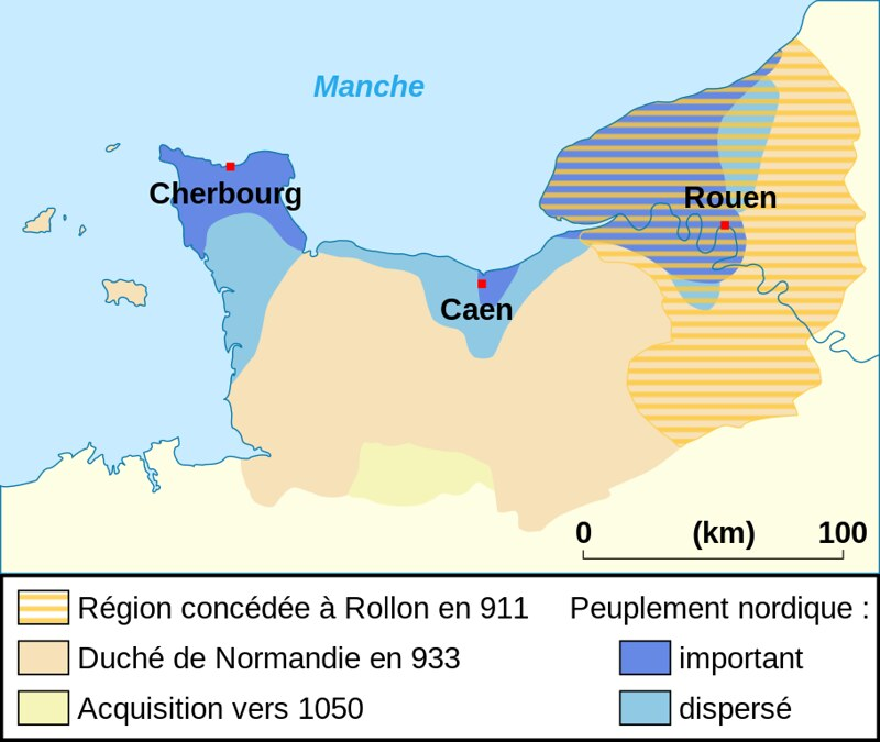 Duchy of Normandy between 911 and 1050